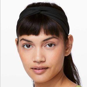NWOT Lululemon All Night knot headband